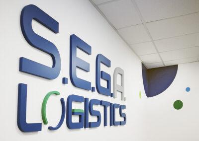 Decoration of a new logistics center